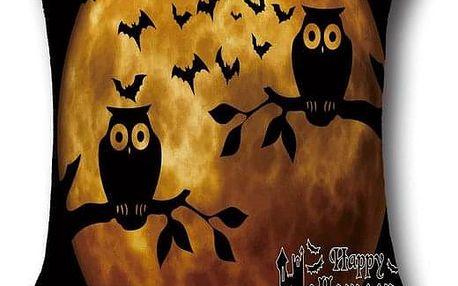 Povlak na polštář v halloweenském stylu - 3 - dodání do 2 dnů