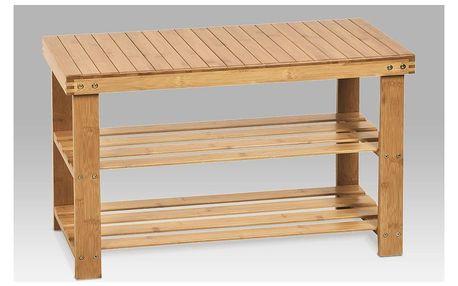 Botník 2 patra, bambus
