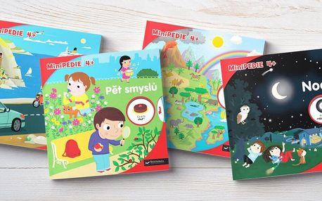 Zábavně-vzdělávací knížka Minipedie pro děti