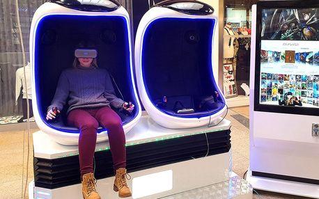 1 nebo 2 vstupenky na virtuální realitu 9D