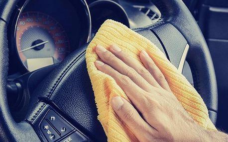 Šetrné mytí a čištění automobilu parní metodou