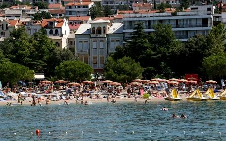 Chorvatsko - Crikvenica autobusem na 10-17 dnů, snídaně v ceně