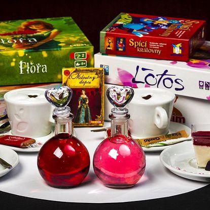 Deskoherní Valentýn: elixír lásky, káva i dezert