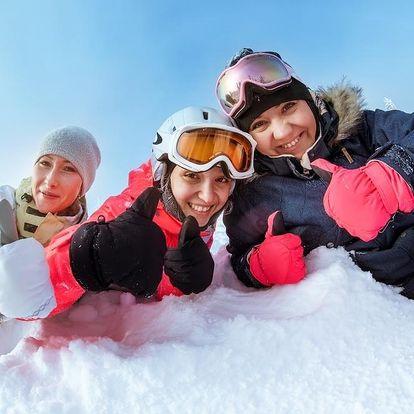 Zimní pohoda na horách na 3 noci v Horním Maršově