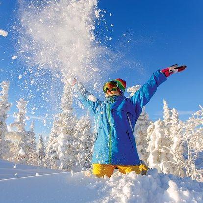 Zimní pohoda na horách na 4 noci v Horním Maršově