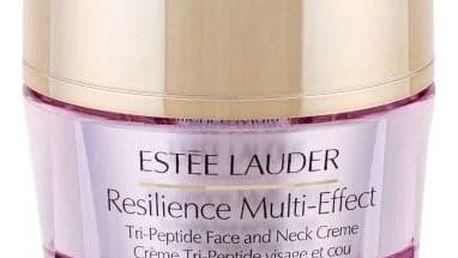 Estée Lauder Resilience Multi-Effect Tri-Peptide Face and Neck SPF15 50 ml vyživující krém na obličej a dekolt pro suchou pleť pro ženy