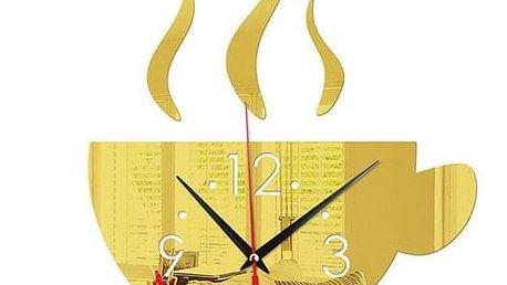 Nástěnné nalepovací hodiny B04100 - dodání do 2 dnů