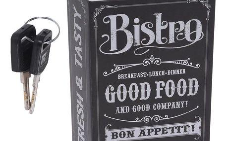 Koopman Bezpečnostní schránka Restaurant, černá