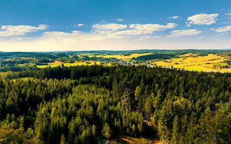 Jižní Čechy s polopenzí, saunou a vířivkou