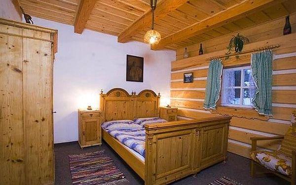 Harrachov: Penzion Dřevěnka u bobové dráhy a turistických stezek s polopenzí