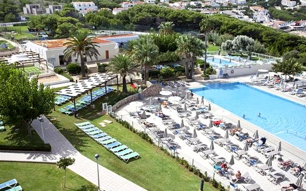 Zdravý pohyb u moře na Menorce   Club hotel Aguamarina, Zdravý pohyb, letecky, polopenze5