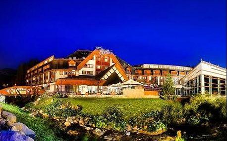Příjemný pobyt pod Chopkem v Hotel Grand Jasná ****