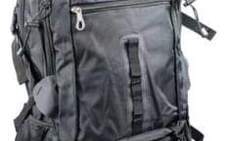 Hosen batoh outdoorový černý 65l