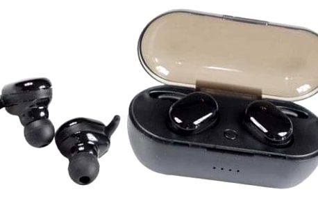 Sluchátka TWS4 černá a dobíjecí box