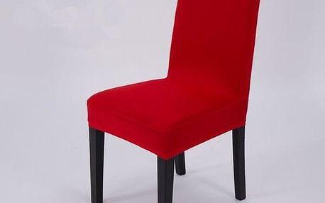 Elegantní potah na kuchyňské židle - Červená - dodání do 2 dnů