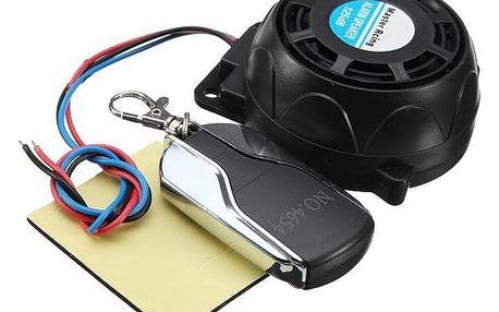 Alarm pro motocykl s dálkovým ovladačem - dodání do 2 dnů