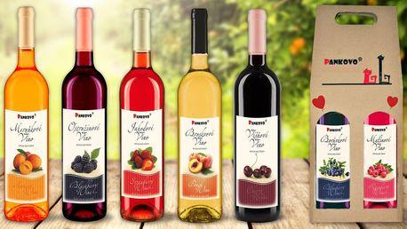 Ovocná vína z českého venkova: 8 různých chutí