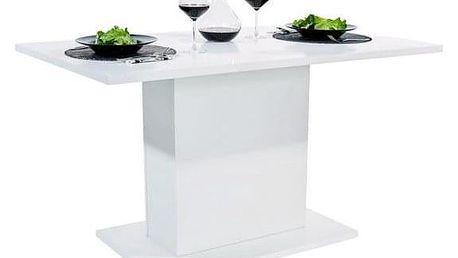 Jídelní stůl ANITA 1 bílá lesk