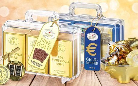 Zlaté prasátko, pohár nebo medaile z čokolády