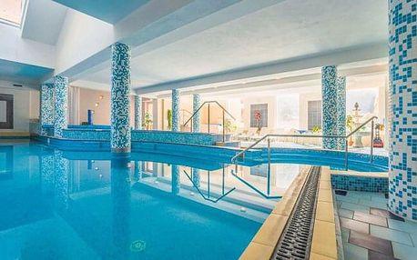 Seniorský relaxační pobyt: Trenčianske Teplice ve Vile Anna **** s polopenzí, wellness a bazénem Grand