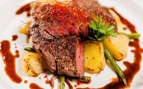 Romantická večeře na Kristině Hrádku