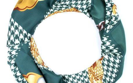 Delfin Hedvábný šátek Luxury Vintage - luxusní šperky
