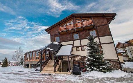 Vysoké Tatry: zima v Hotelu Eufória *** s polopenzí a wellness + dítě zdarma