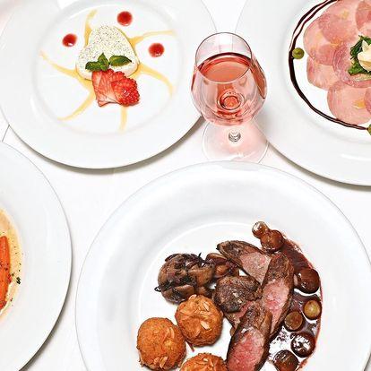Tříchodové valentýnské menu na Malé Straně
