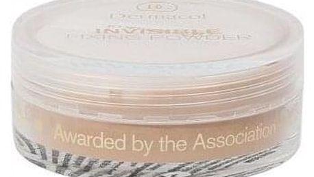 Dermacol Invisible Fixing Powder 13 g transparentní fixační pudr pro ženy Natural