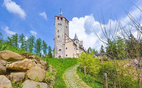 Liberec: Hotel Liberecká výšina u Zoo Liberec s rozhlednou a polopenzí