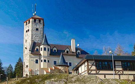 Liberec: Hotel Liberecká výšina s polopenzí a rozhlednou blízko skiareálu