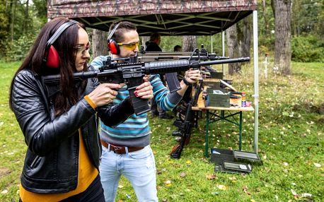 Střelba pro pár: valentýnské termíny, speciální terče