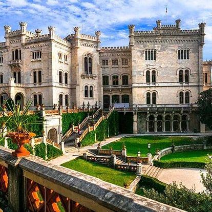 Terst a zámek Miramare, Friuli-Venezia Giulia