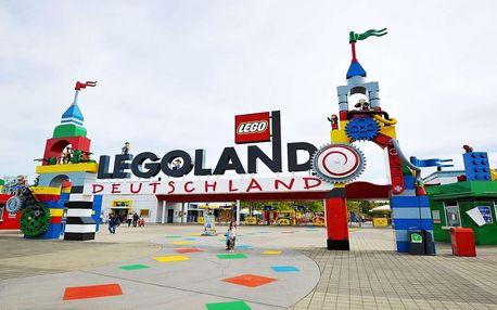 Květnový zájezd do zábavního parku Legoland v Německu pro 1 osobu