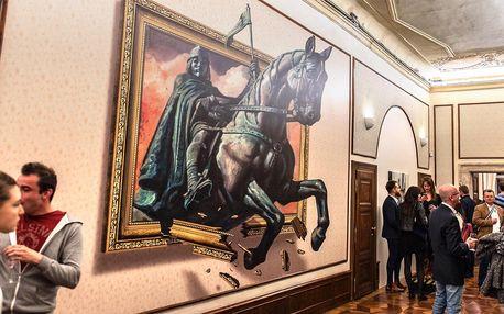 Návštěva Muzea iluzivního umění, dort a drink