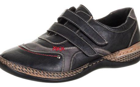 AKCE- Feixu Dámské polobotky pro široké nohy na suché zipy - vel. 37,36