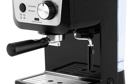 ECG ESP 20101 pákový espresso kávovar Black