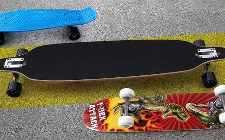 Ať to frčí: skate, longboard nebo penny board