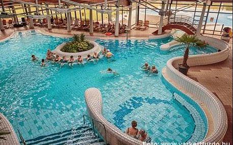 Pobyt v blízkosti termálních lázní v maďarském městečku Pápa v stylovém hotelu