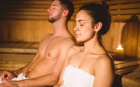 Wellness pro pár: 2 druhy sauny a nafukovací vířivka