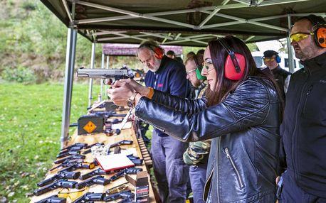 Střelecké balíčky pro rodinu nebo partu kamarádů