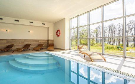 Pobyt na Lipně s polopenzí, saunou i bazénem