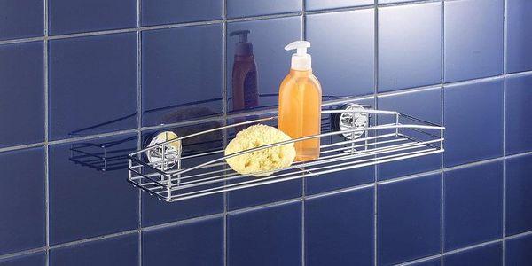 Koupelnová polička,MILAZZO, Vacuum-Loc - chromovaná ocel, WENKO2
