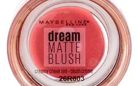 Maybelline Dream Matte Blush 6 g matná krémová tvářenka pro ženy 10 Flirty Pink