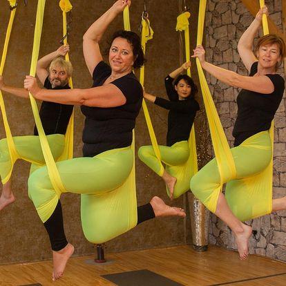 Přijďte tančit a létat: 1-10 lekcí Aerial hammock dance