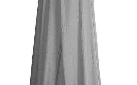 Home Styling Collection baldachýn nad postelí, 230 x 650 cm, šedá