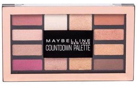 Maybelline Countdown Palette 12 g paletka očních stínů pro ženy 01