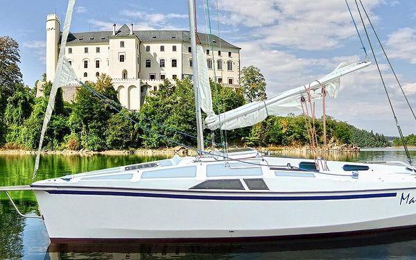 Pronájem jachty Štír, RA Cruiser nebo Jeanneau Flirt na 1 den (bez průkazu VMP)4