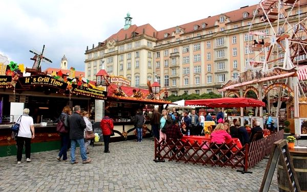 Jarní trhy v Drážďanech, Primark, Sasko