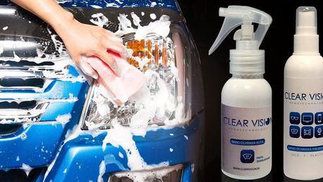 Nanokosmetika pro sklo a lak vašeho vozu